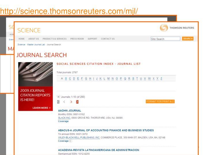 http://science.thomsonreuters.com/mjl/