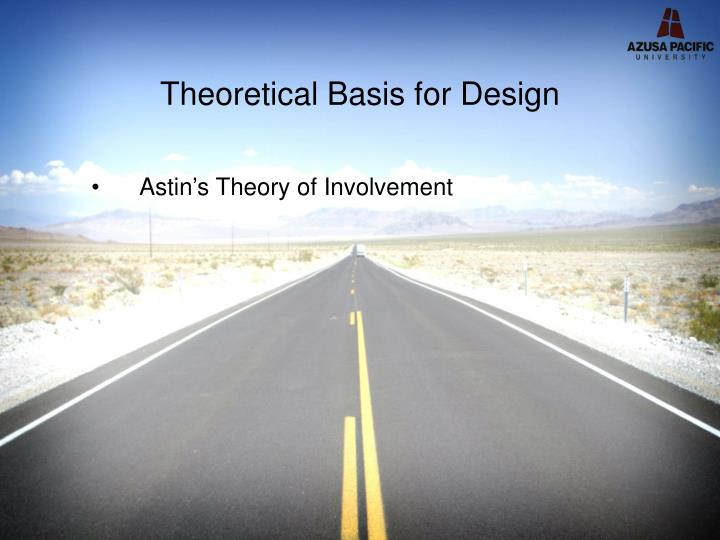 Theoretical Basis for Design