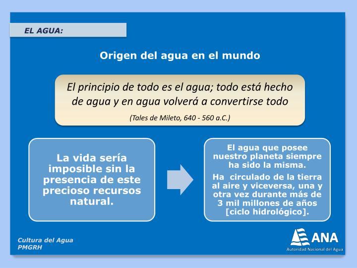 EL AGUA:
