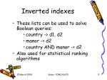 inverted indexes1