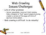 web crawling issues challenges1