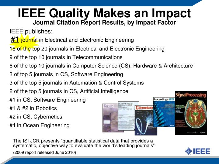 IEEE publishes: