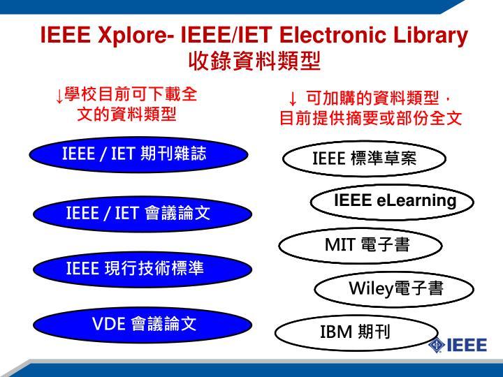 IEEE / IET