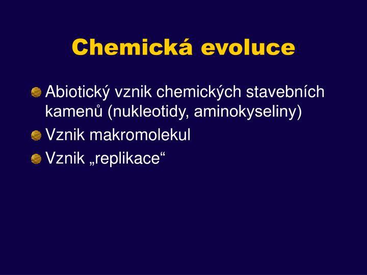 Chemická evoluce