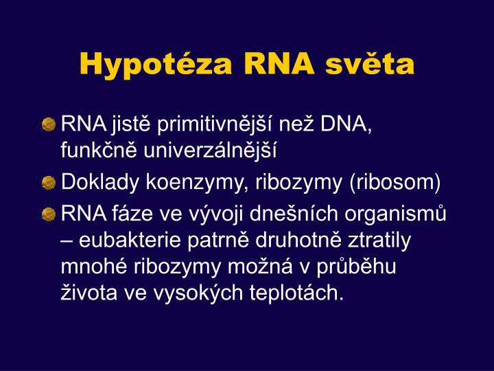 Hypotéza RNA světa
