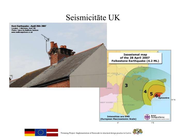 Seismicitāte UK