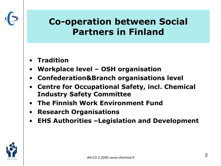 Co-operation between Social Partners in Finland