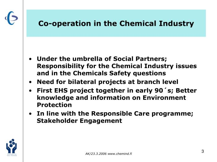Co-operation in the Chemical Industry