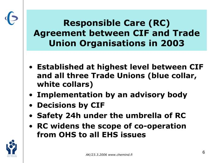 Responsible Care (RC)