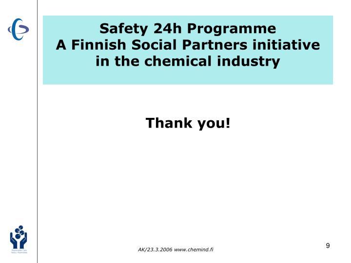 Safety 24h Programme
