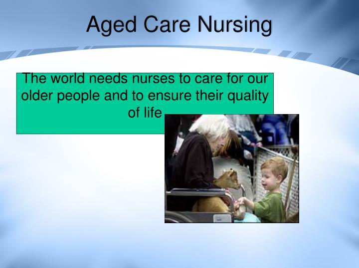 Aged Care Nursing