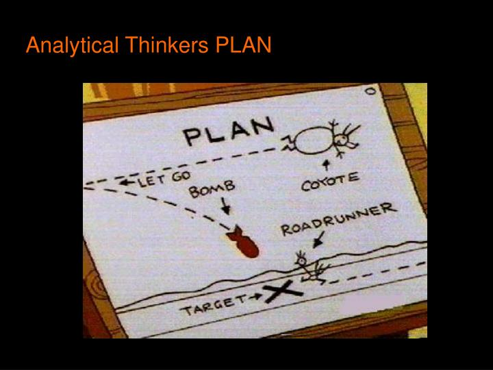 Analytical Thinkers PLAN