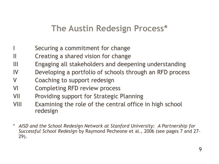 The Austin Redesign Process*