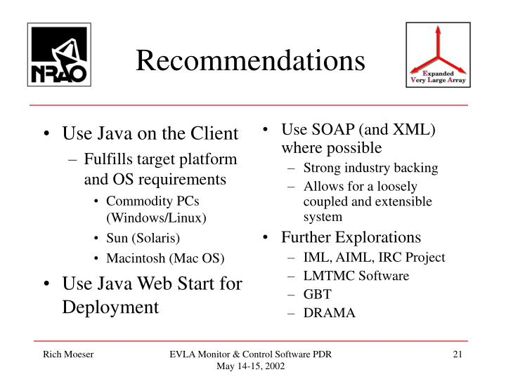 Use Java on the Client