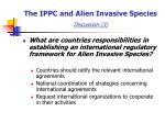 the ippc and alien invasive species discussion 3