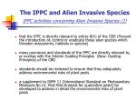 the ippc and alien invasive species ippc activities concerning alien invasive species 2