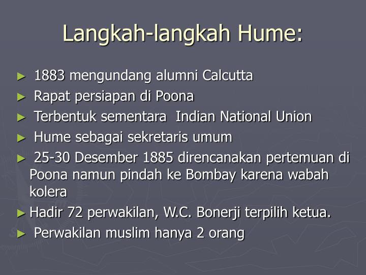 Langkah-langkah Hume: