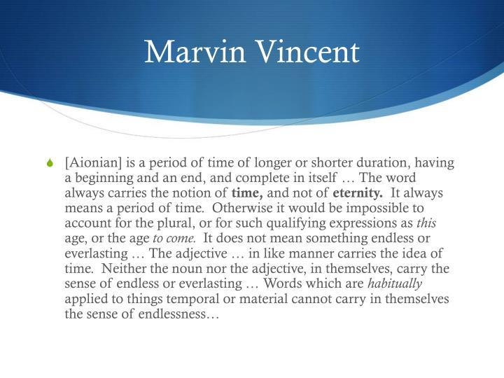 Marvin Vincent