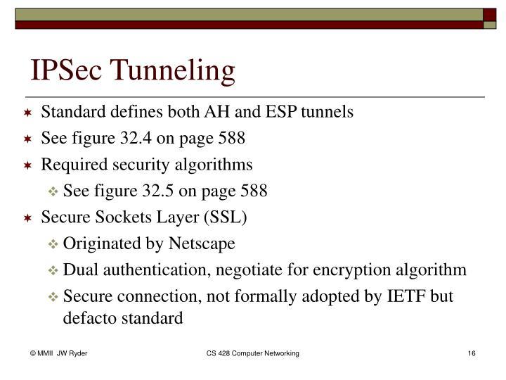 IPSec Tunneling