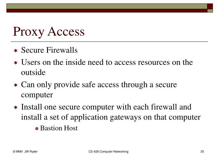 Secure Firewalls