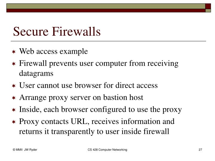 Web access example