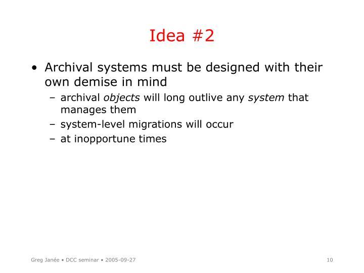 Idea #2