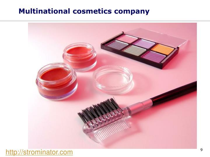 Multinational cosmetics company