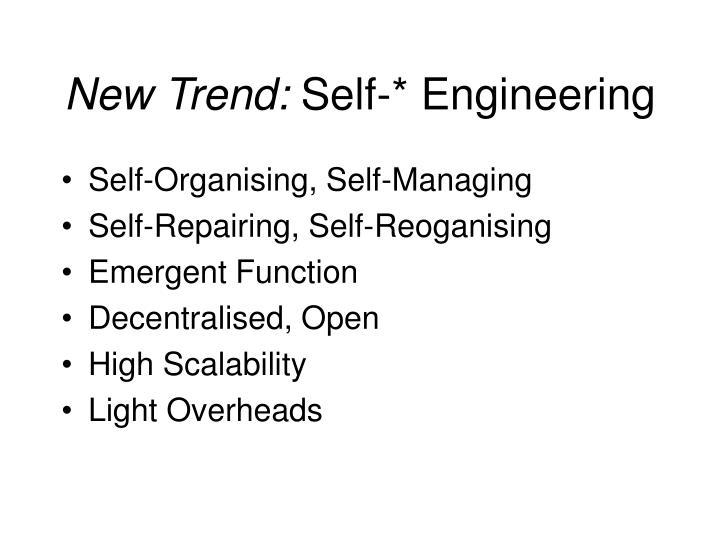 New Trend: