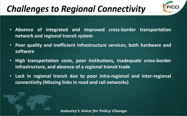 Challenges to Regional Connectivity