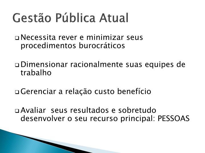 Gestão Pública Atual