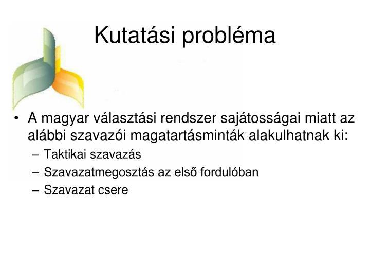 Kutatási probléma
