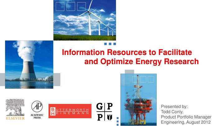 Information Resources to Facilitate