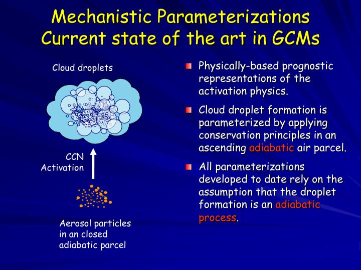 Mechanistic Parameterizations