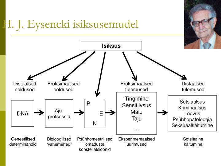 H. J. Eysencki isiksusemudel
