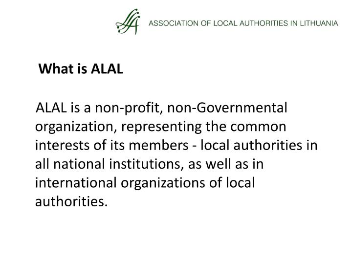 What is ALAL