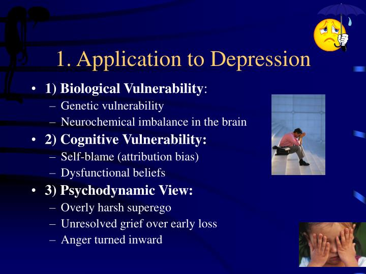 1. Application to Depression
