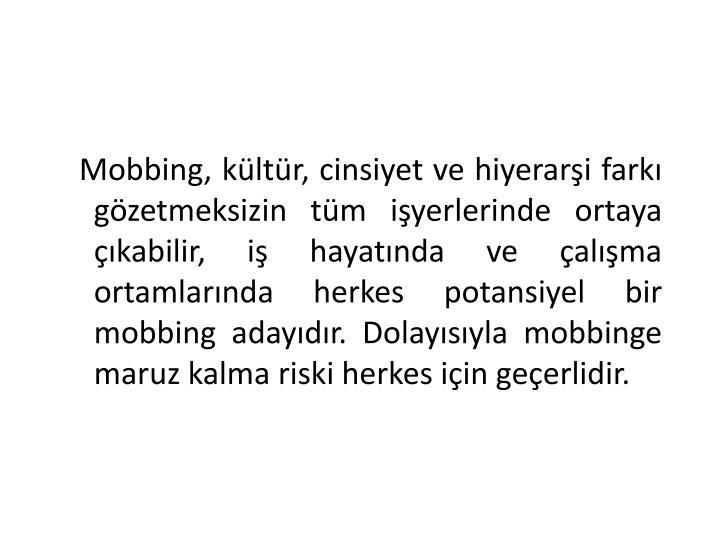 Mobbing, k