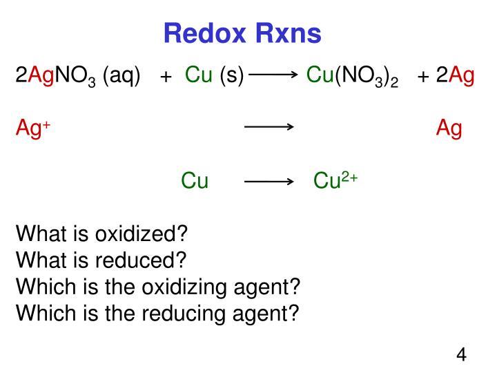 Redox Rxns