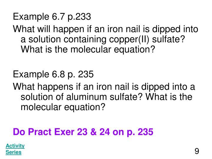 Example 6.7 p.233