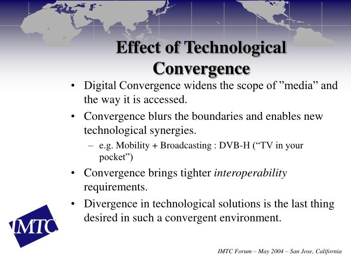 Effect of Technological Convergence