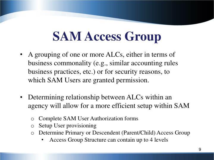 SAM Access Group