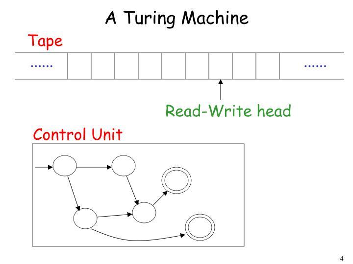 A Turing Machine