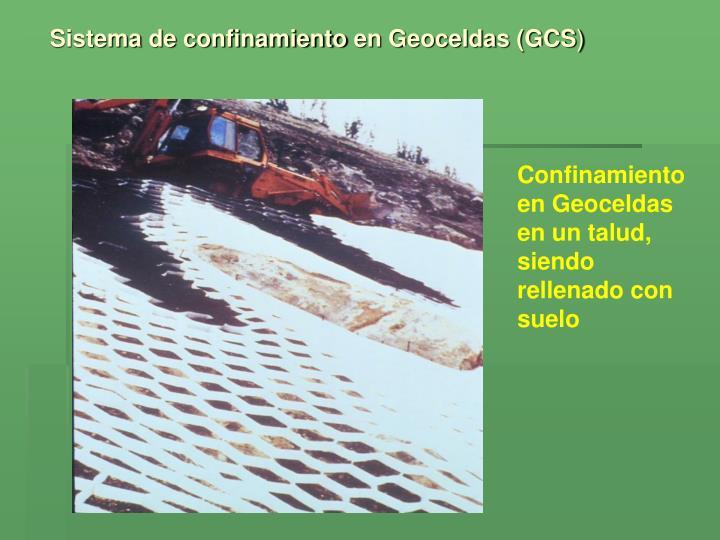 Sistema de confinamiento en Geoceldas (GCS
