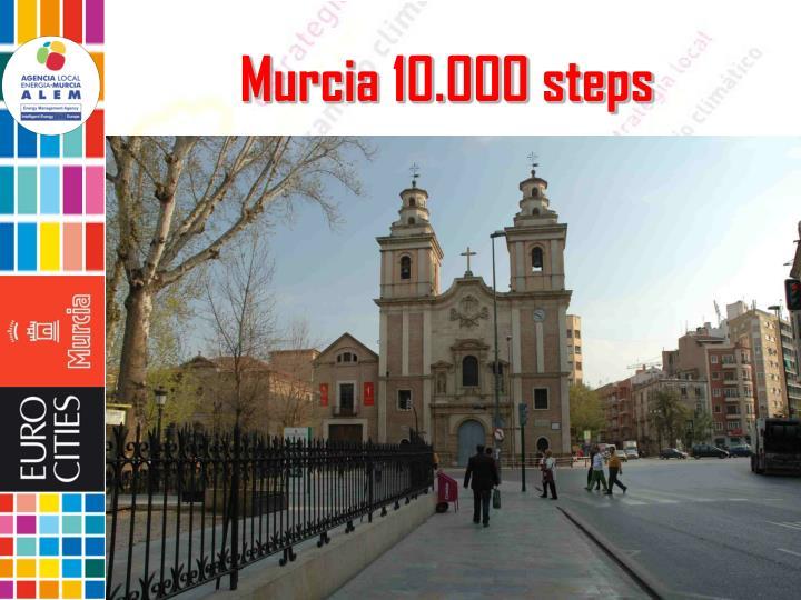 Murcia 10.000 steps