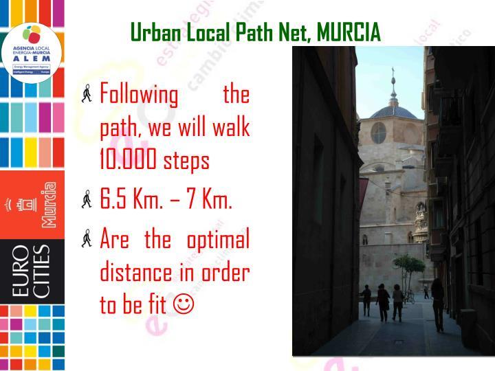 Urban Local Path Net, MURCIA