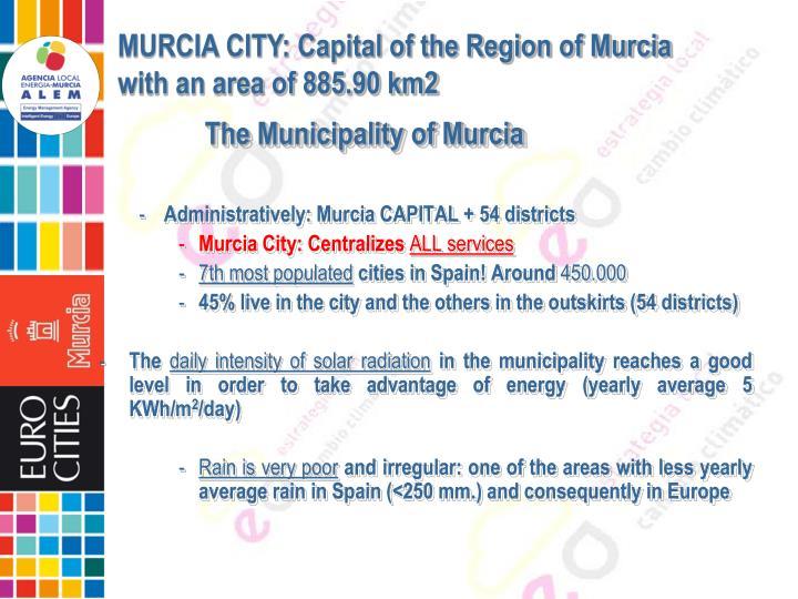 The Municipality of Murcia