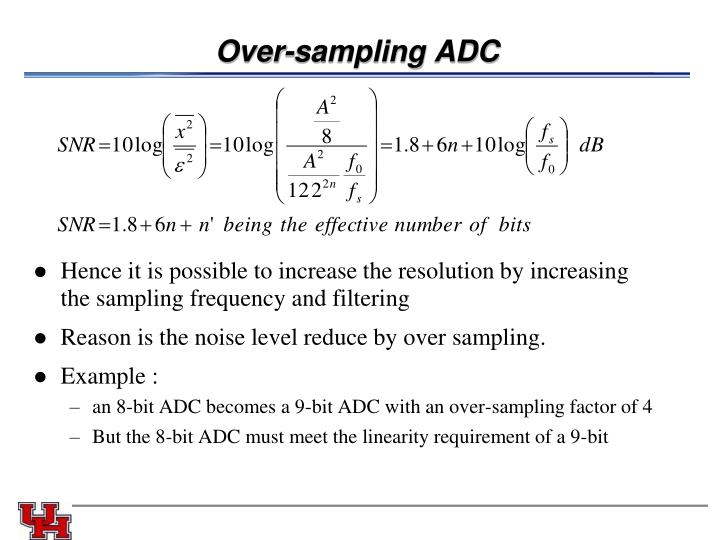 Over-sampling ADC