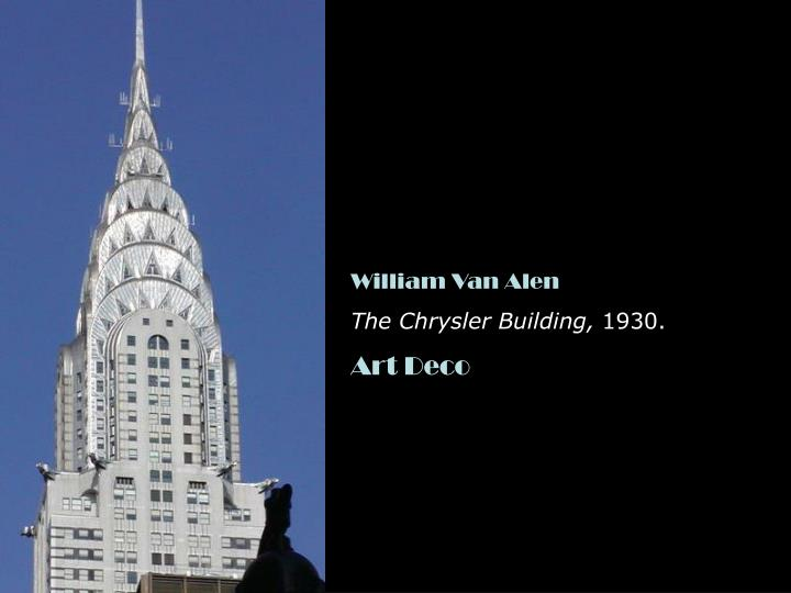 William Van Alen