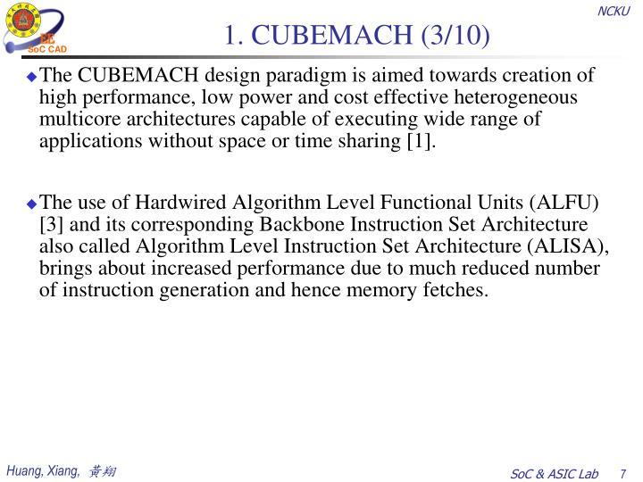 1. CUBEMACH (3/10)
