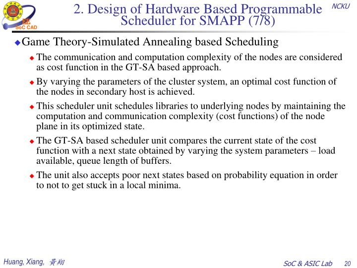 2. Design of Hardware Based Programmable